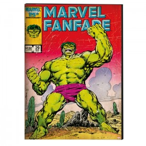 Canvas Marvel Comics Hulk 70-286