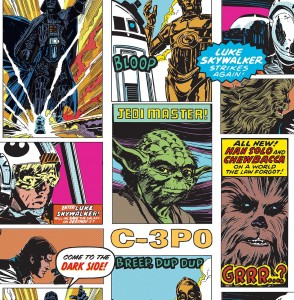 Tapeta Star Wars Star Wars Pop Art 70-573 - 10 mb