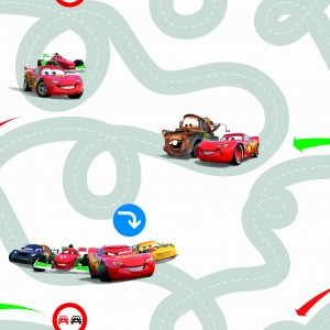 Tapeta Disney Cars  Racetrack - df72599