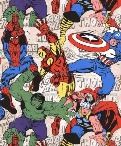 Tapeta  Marvel Komiks Colour Superheroes 70-467 - 10 mb