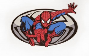 Naklejka  ścienna  Sticker Spiderman - 23568