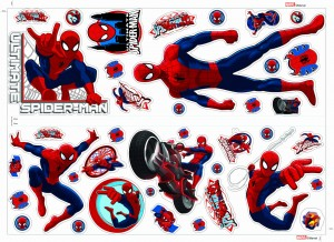 Naklejka  ścienna  Sticker Spiderman - 40268B