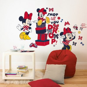 Naklejka  ścienna  Sticker  large Mickey - 70-184
